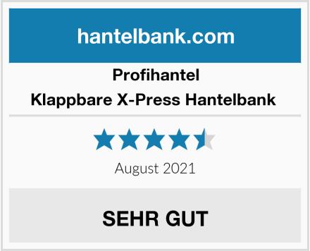 Profihantel Klappbare X-Press Hantelbank  Test