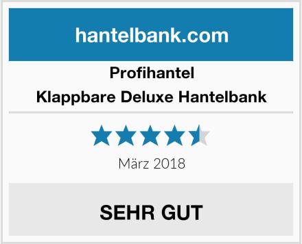 Profihantel Klappbare Deluxe Hantelbank Test
