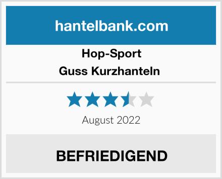 Hop-Sport Guss Kurzhanteln  Test