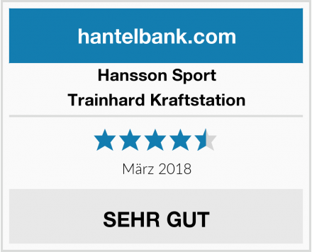 Hansson Sport Trainhard Kraftstation Test