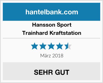 Hansson Sport Trainhard Kraftstation Test