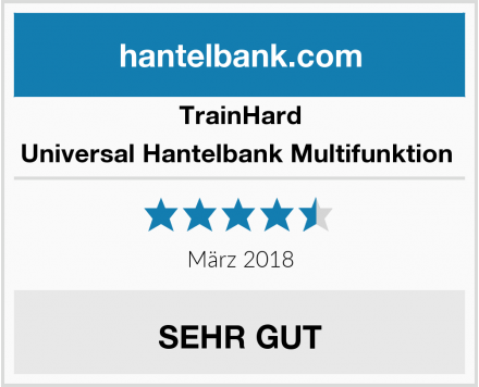 TrainHard Universal Hantelbank Multifunktion  Test