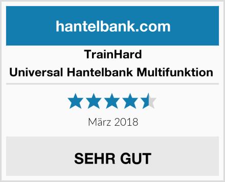 TrainHard Universal Hantelbank Multifunktion  Test