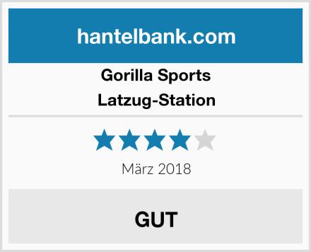 GORILLA SPORTS Latzug-Station Test