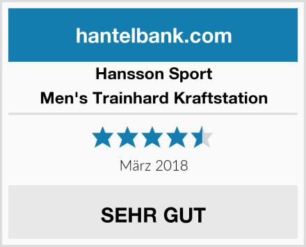Hansson Sport Men's Trainhard Kraftstation Test