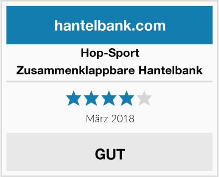 Hop-Sport  Zusammenklappbare Hantelbank Test