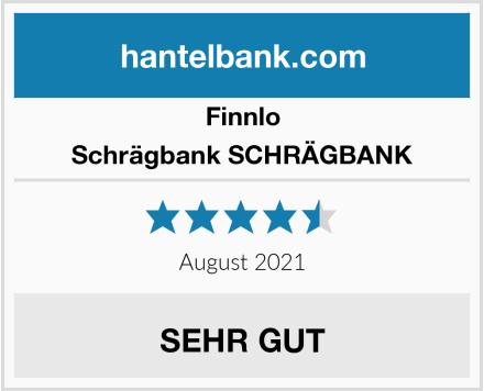 Finnlo Schrägbank SCHRÄGBANK Test