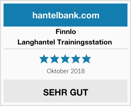 Finnlo Langhantel Trainingsstation  Test