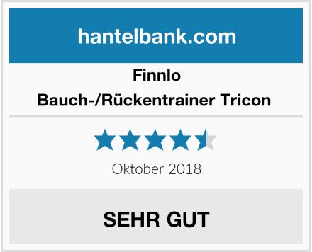 Finnlo Bauch-/Rückentrainer Tricon  Test