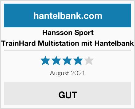 Hansson Sport TrainHard Multistation mit Hantelbank Test