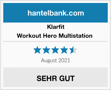 Klarfit Workout Hero Multistation  Test