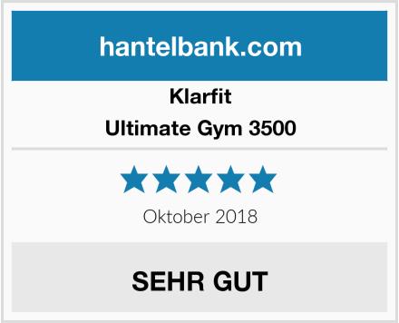 Klarfit Ultimate Gym 3500 Test