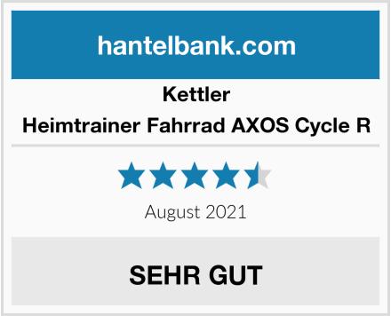 Kettler Heimtrainer Fahrrad AXOS Cycle R Test