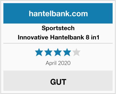 Sportstech Innovative Hantelbank 8 in1 Test