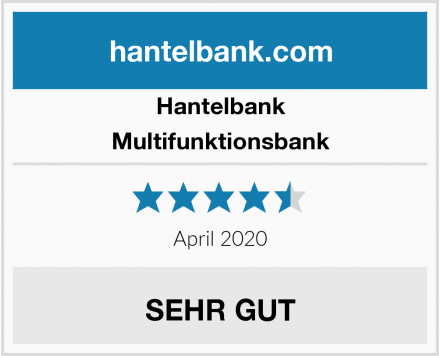 Hantelbank Multifunktionsbank Test