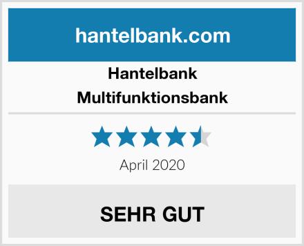 Hantelbank Multifunktionsbank Test