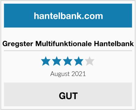 Gregster Multifunktionale Hantelbank Test
